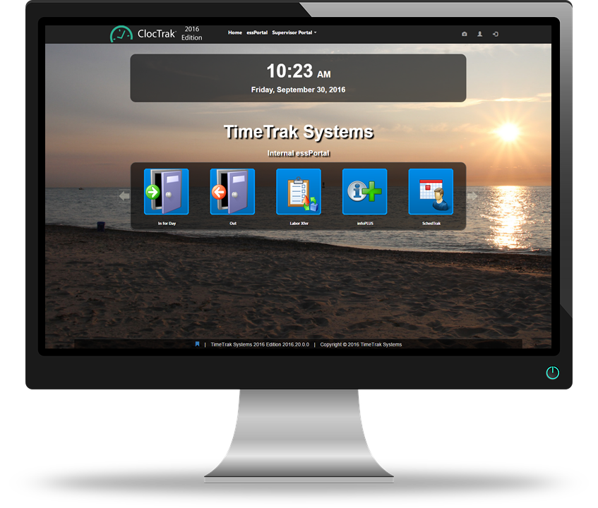 web time clock