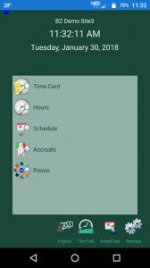 iphone adroid time clock app