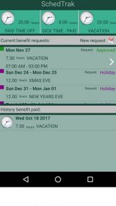 mobile time clock app for employees