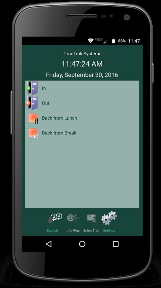 mobile time clock app